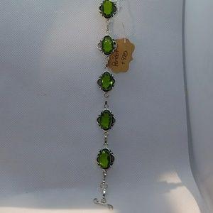 Jewelry - Peridot bracelet 925 silver